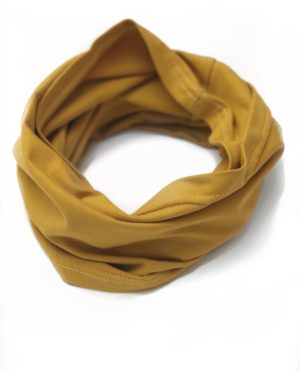 Snood Double Moutarde