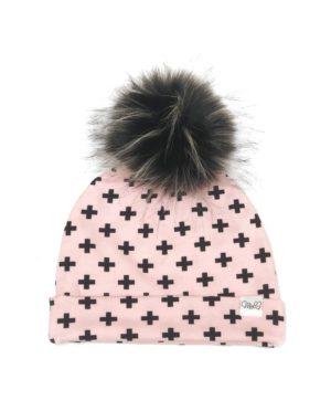 Bonnet Cross Pink