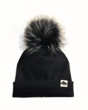 Bonnet Maille Noir