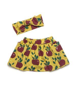 Jupe à Poches Pommes 12/18 Mois