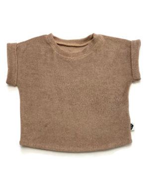 T-Shirt Éponge Chocolat 12/18 Mois