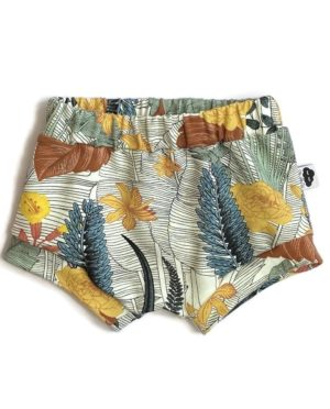Shorty Bloomer Tropical 9/12 Mois