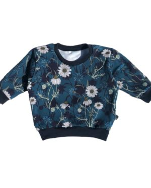 Sweat Loose Marguerites 9/12 Mois