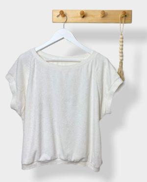 T-Shirt Femme éponge