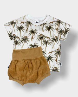 T-Shirt à revers Palmiers 6-9 Ans