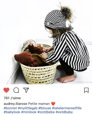 Bonnet So Soft Rayé